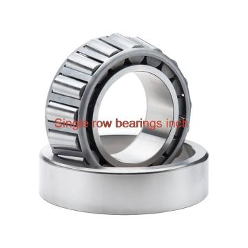 81606/81962 Single row bearings inch